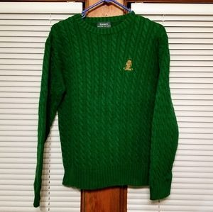 Vintage Lauren Ralph Lauren Green Sweater